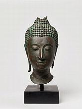 LARGE HEAD OF BUDDHA SHAKYAMUNI