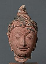 HEAD OF BUDDHA SHAKYAMUNI