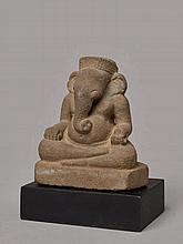 SEATED GOD OF WISDOM GANESHA