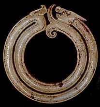 DRAGON-SHAPED DOUBLE RING