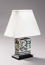 OLD CHINESE VASE AS A LAMP STAND