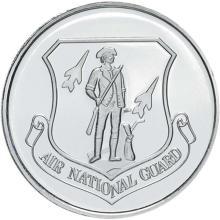 US Air National Guard .999 Silver 1 oz Round #24455v3