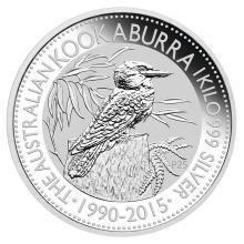 Australian Kookaburra Kilo Silver 2015 #24234v3