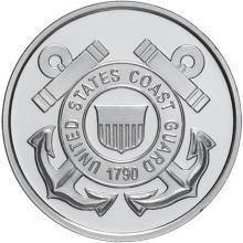 US Coast Guard .999 Silver 1 oz Round #24454v3