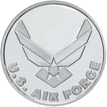 US Air Force .999 Silver 1 oz Round #24452v3