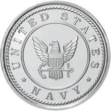 US Navy .999 Silver 1 oz Round #24451v3