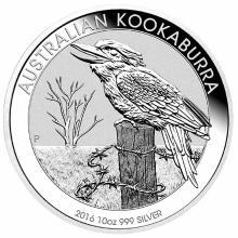 Australian Kookaburra 10 Oz Silver 2016 #24229v3