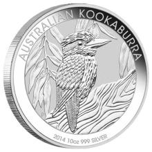 Australian Kookaburra 10 Oz Silver 2014 #24231v3