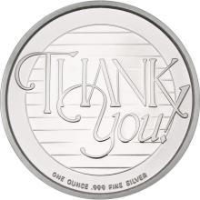 Thank You 2016 .999 Silver 1 oz Round #24438v3