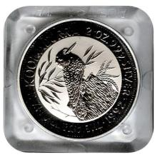 Australian Kookaburra 2 oz. Silver 1992 #24228v3