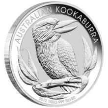 Australian Kookaburra Kilo Silver 2012 #24236v3