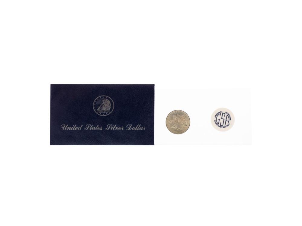 1883-O $1 Morgan Silver Dollar Coin GSA Hoard w/ Soft Pack