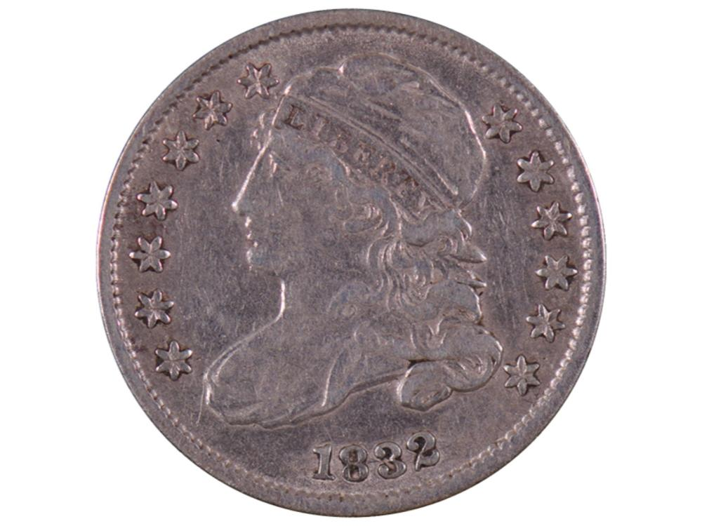 1832 Liberty Capped Bust Dime Coin