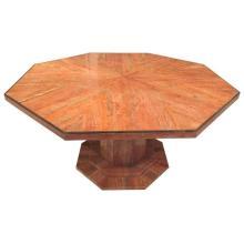 Italian Octagonal Marble Dining Table Mid Century Modern