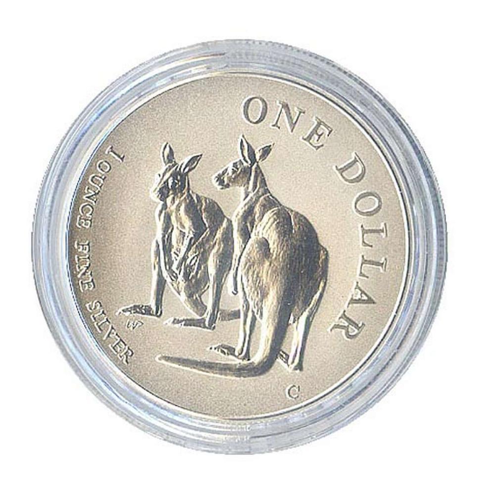 Australian Kangaroo 1 oz. Silver 1999 #1AC84503