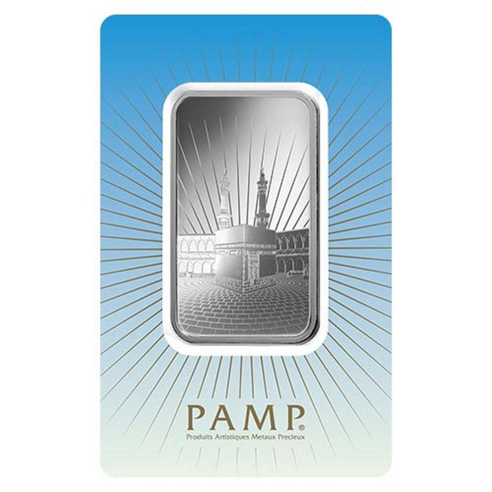 PAMP Suisse Silver Bar 1 oz - Ka?bah Mecca #1AC96516