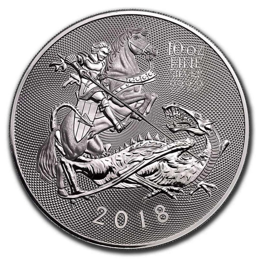 2018 10 oz Silver British Valiant (BU) #1AC84501
