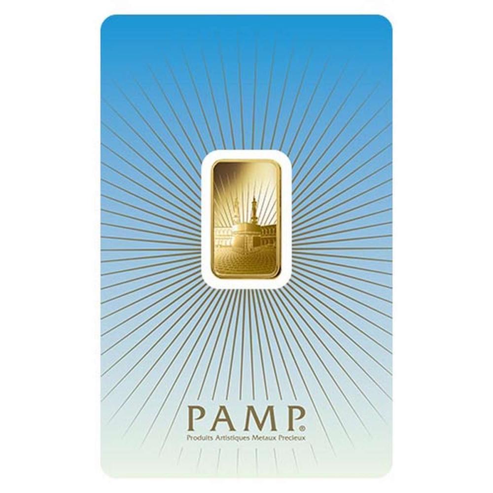 PAMP Suisse 5 Gram Gold Bar - Ka?Bah Mecca #1AC95013