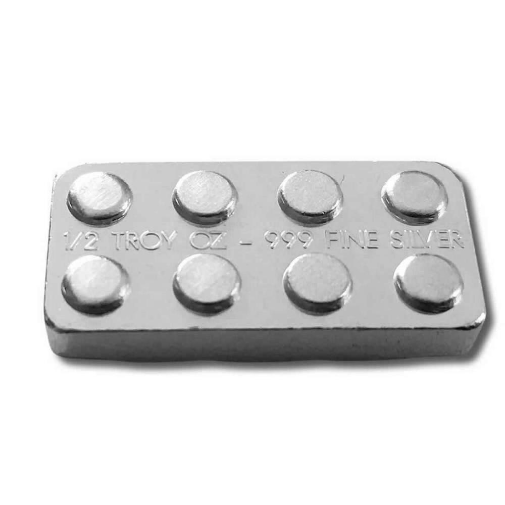 1/2 oz Silver Building Block Bar #1AC96503