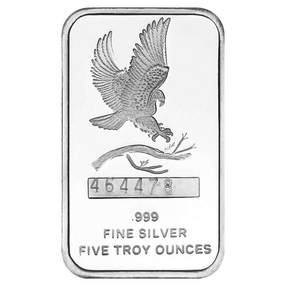 SilverTowne 5 oz Silver Bar - Eagle Design #1AC96522