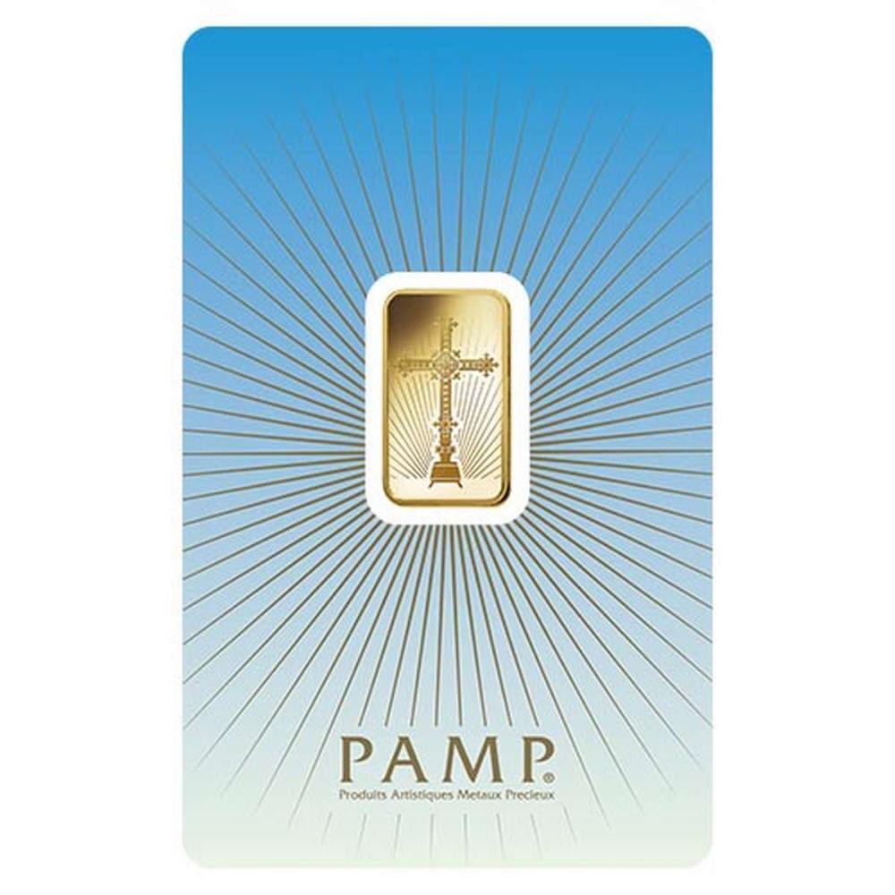 PAMP Suisse 5 Gram Gold Bar - Romanesque Cross #1AC95015