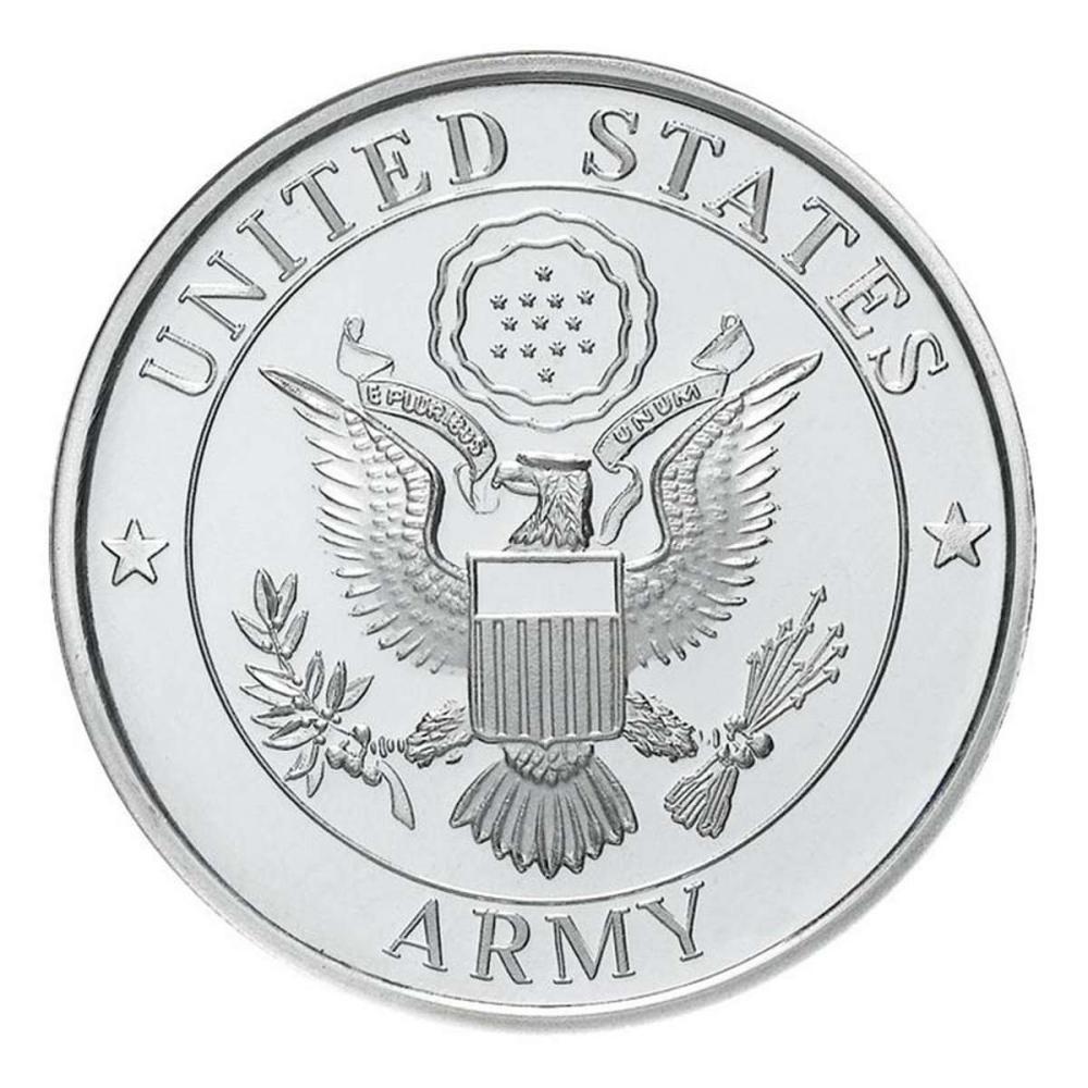 US Army .999 Silver 1 oz Round #1AC96569