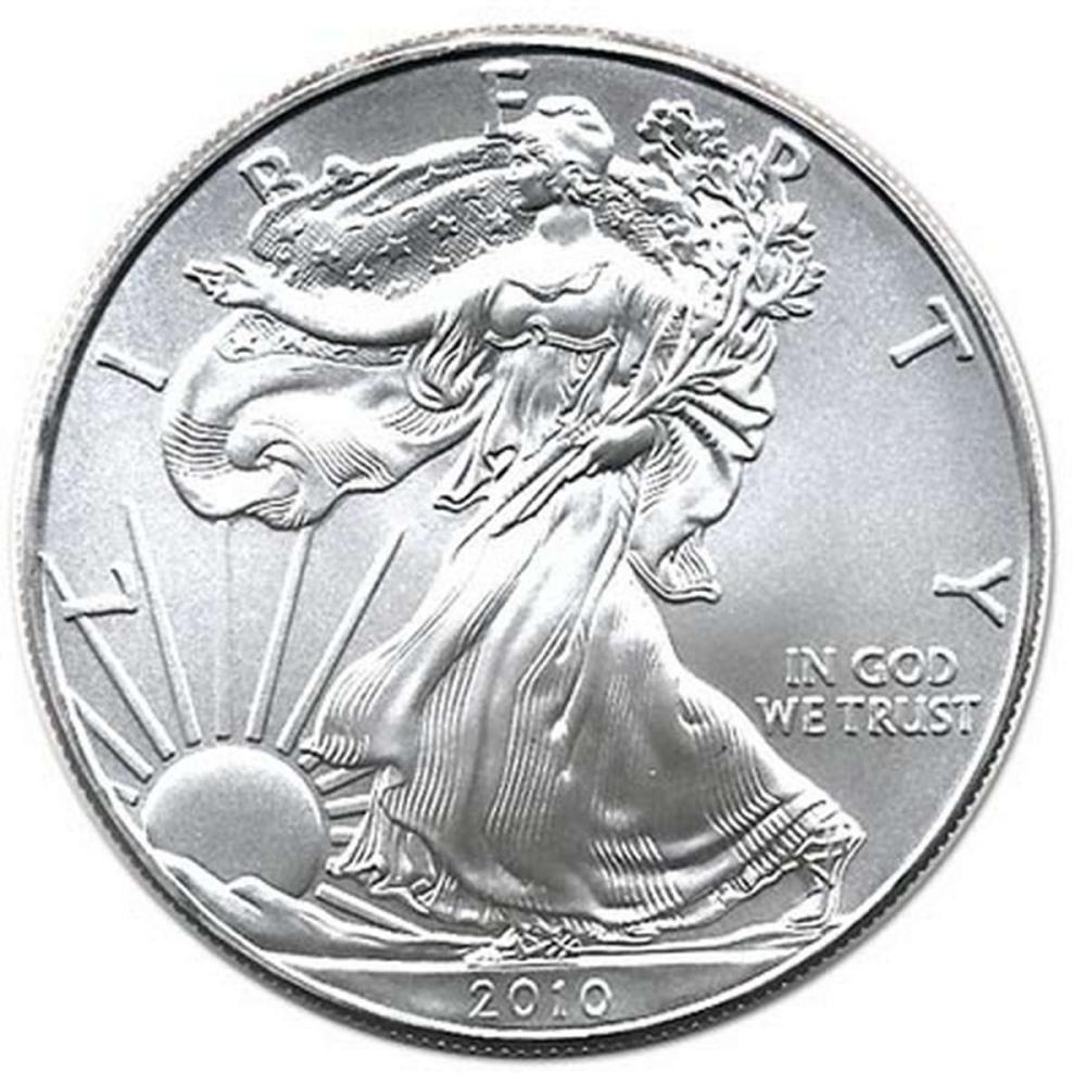 2010 1 oz Silver American Eagle BU #1AC96642