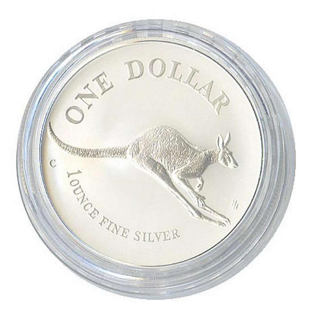 Australian Kangaroo 1 oz. Silver 1997 #1AC84504