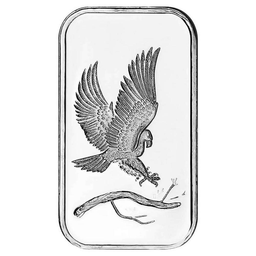 SilverTowne 1 oz Silver Bar - Eagle Design #1AC96499