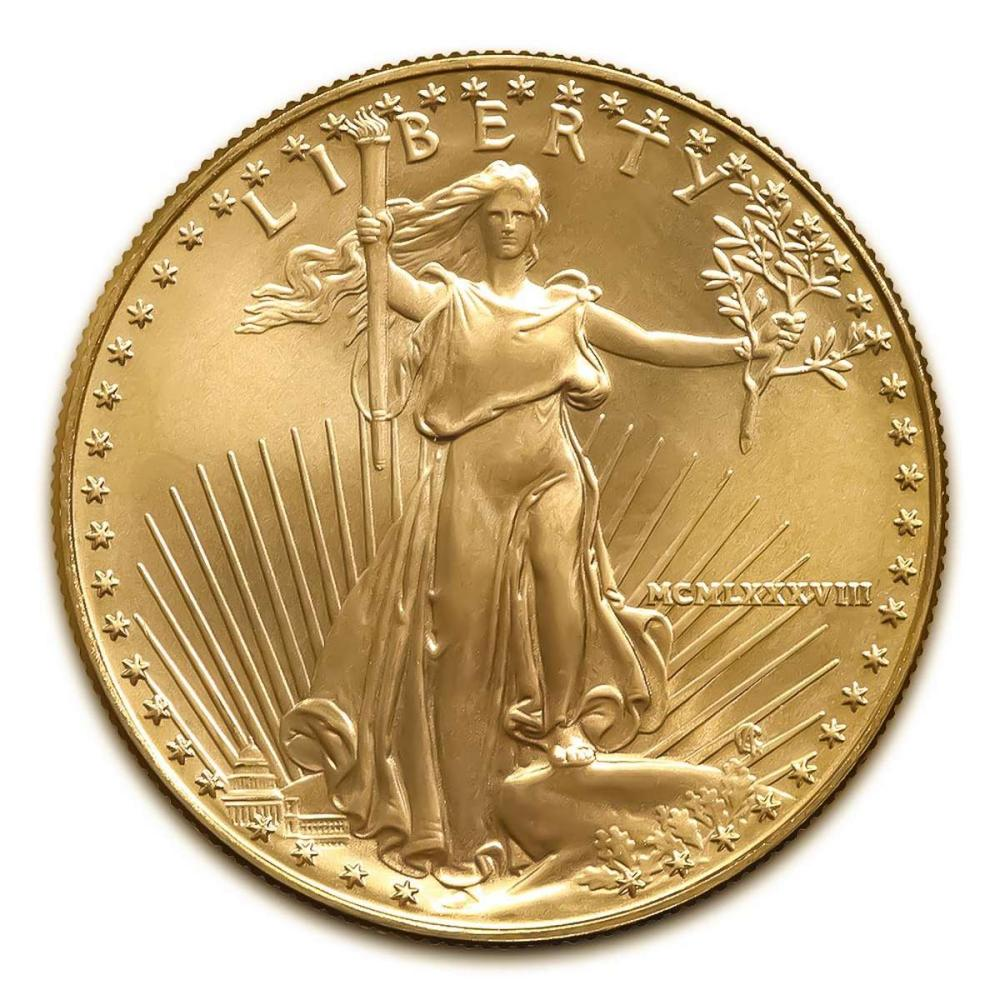 1988 American Gold Eagle 1oz Uncirculated #1AC94939