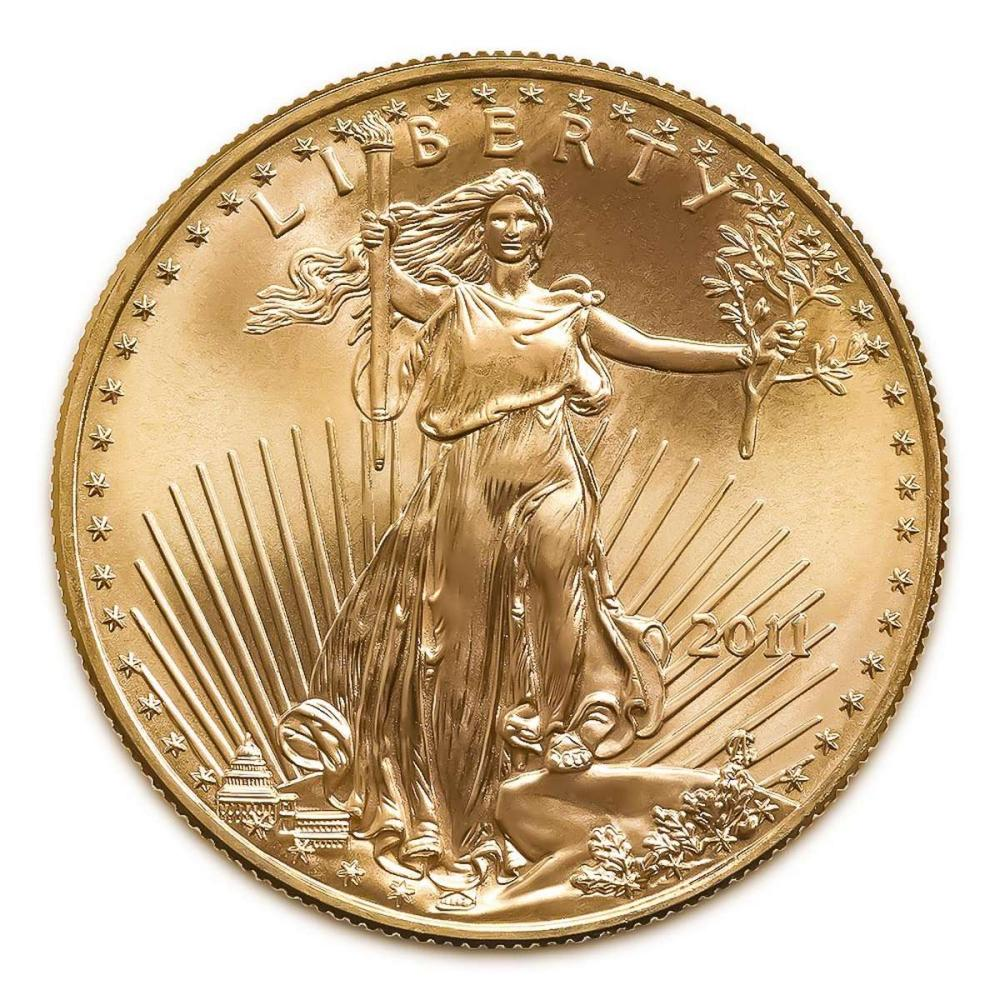 2011 American Gold Eagle 1oz Uncirculated #1AC94916