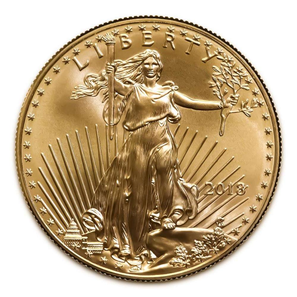2018 American Gold Eagle 1 oz Uncirculated #1AC94909