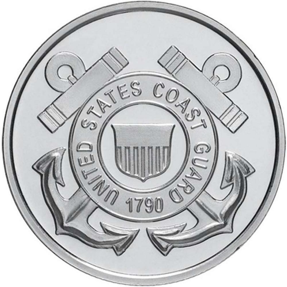 US Coast Guard .999 Silver 1 oz Round #1AC96564