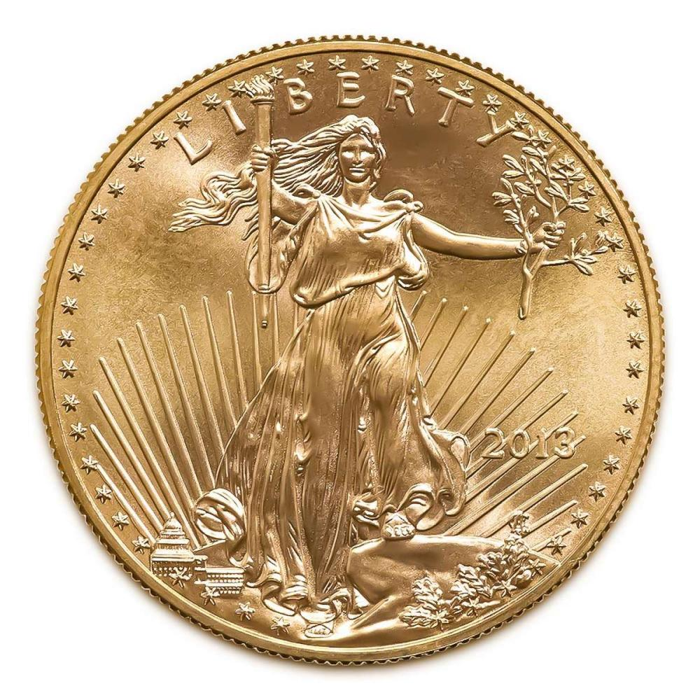 2013 American Gold Eagle 1oz Uncirculated #1AC94914