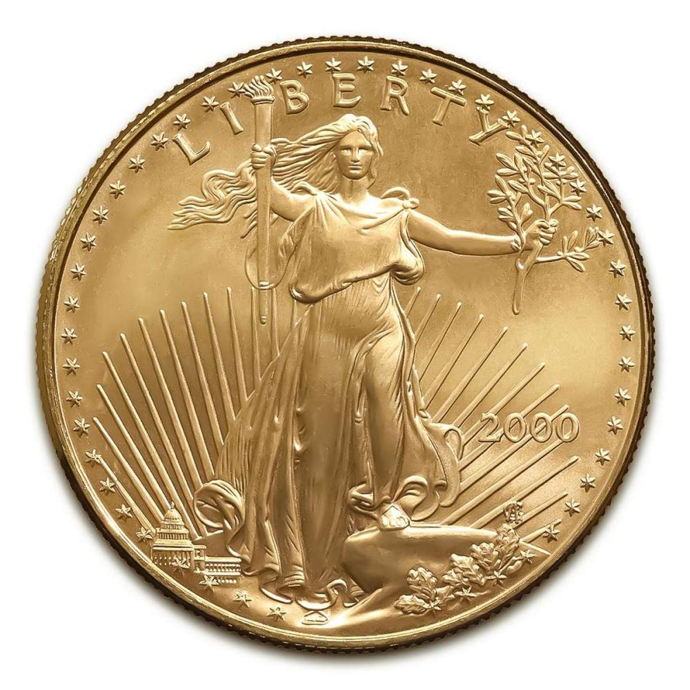2000 American Gold Eagle 1oz Uncirculated #1AC94928