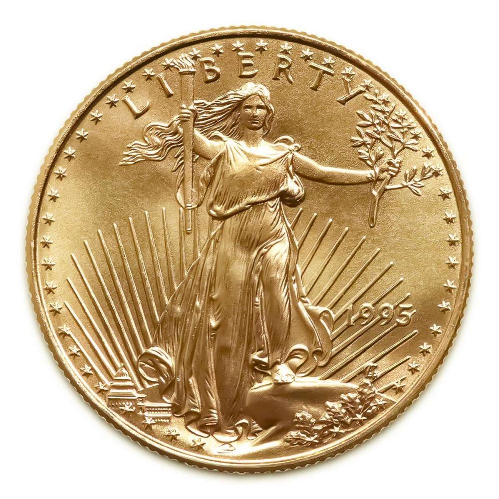 Lot 1111134: 1995 American Gold Eagle 1oz Uncirculated #1AC94933