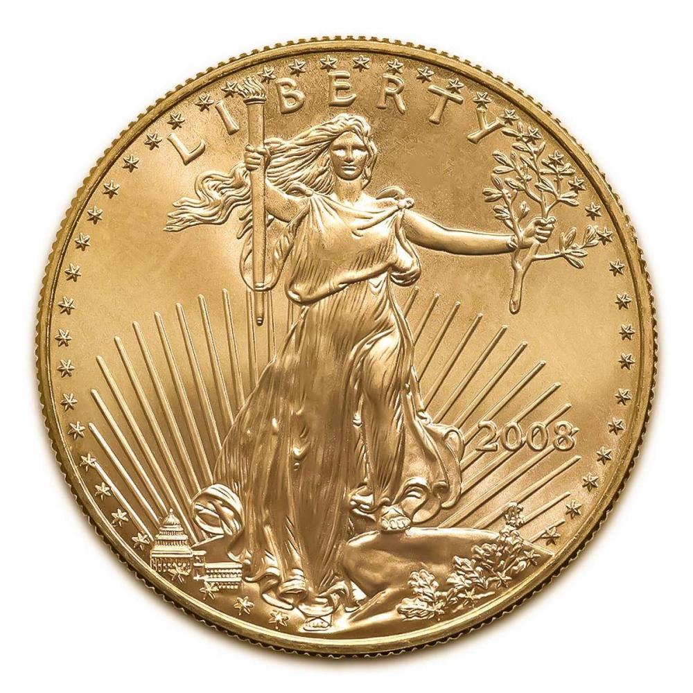 2008 American Gold Eagle 1 oz Uncirculated #1AC94919