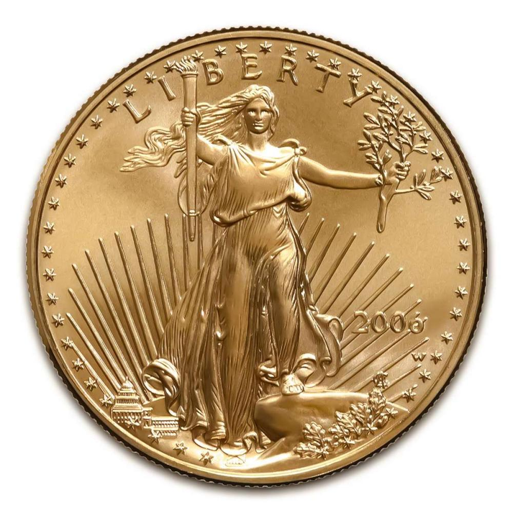 2006-W American Gold Eagle 1oz Uncirculated #1AC94922