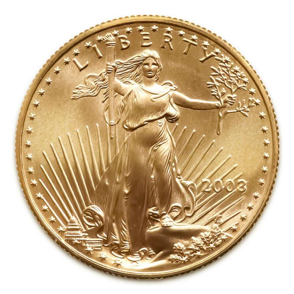 2003 American Gold Eagle 1oz Uncirculated #1AC94926