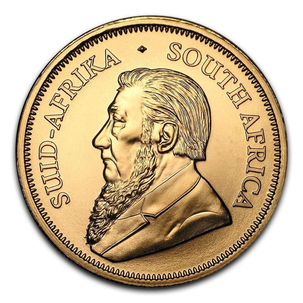 South Africa Gold Krugerrand 1 Ounce (Random Year) #1AC94946
