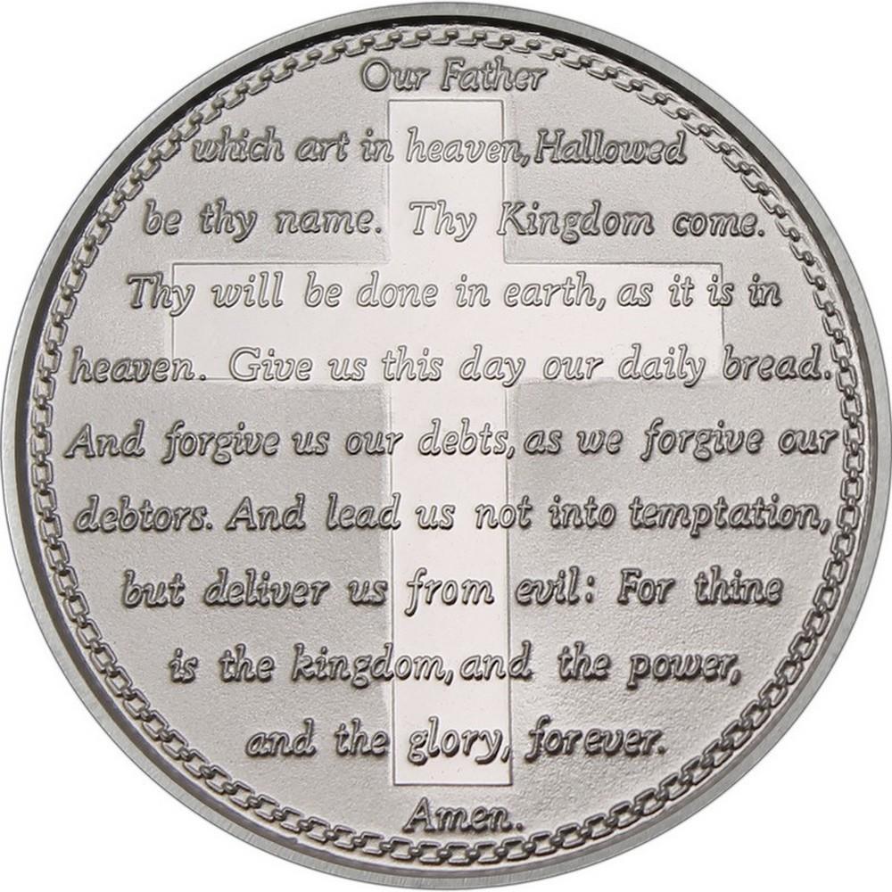 Lords Prayer 2017 .999 Silver 1 oz Round #1AC66863