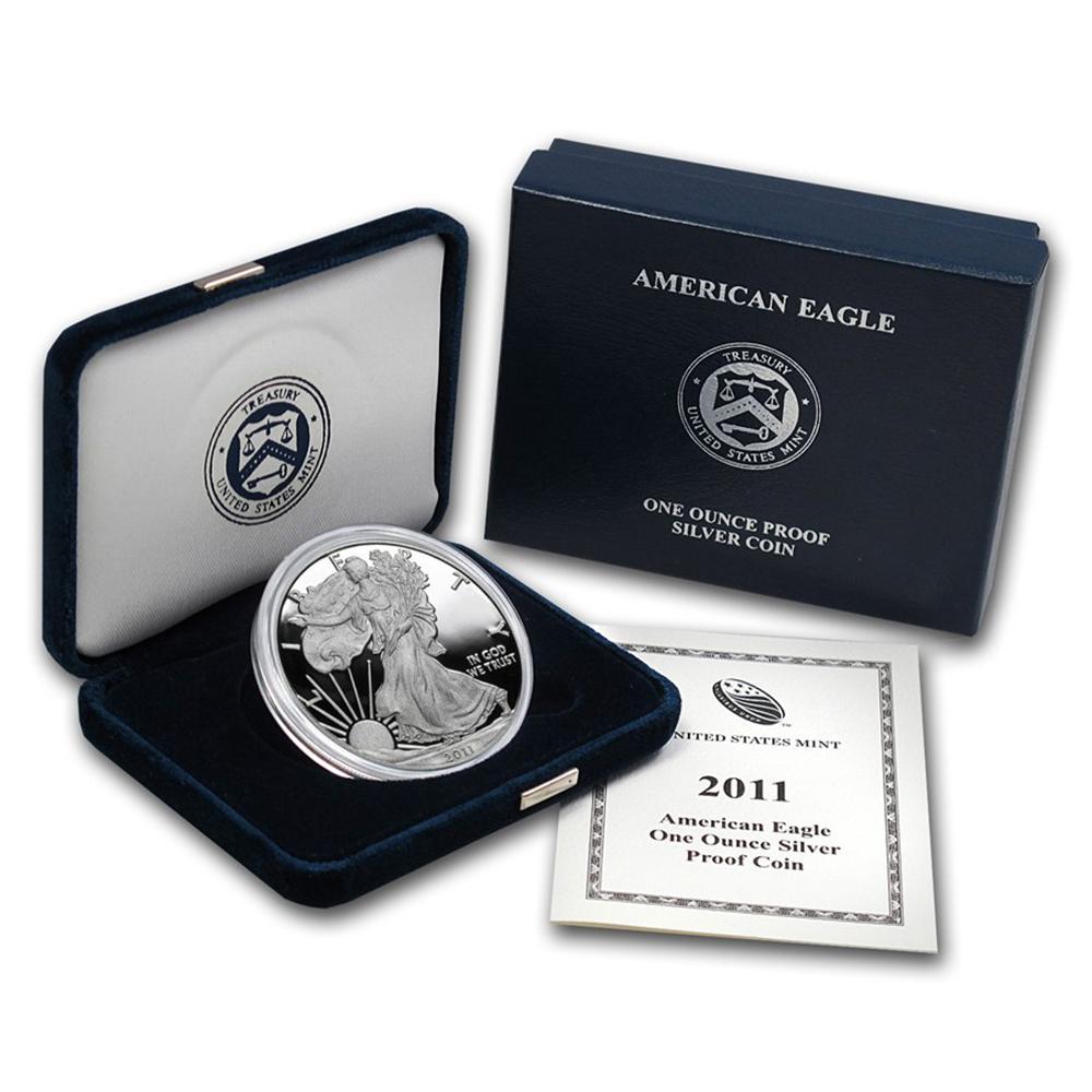 Proof Silver Eagle 2011-W #1AC66818