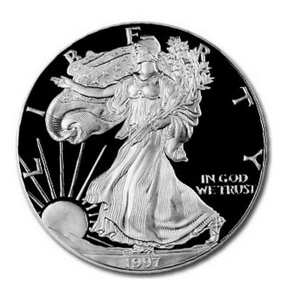 Proof Silver Eagle 1997-P #1AC66831