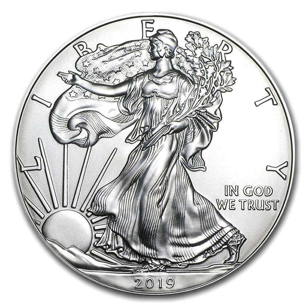 2019 1 oz Silver American Eagle BU #1AC66777