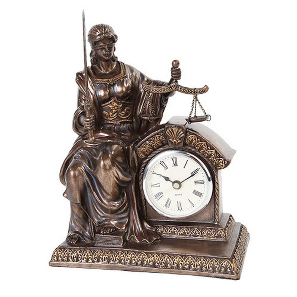 LADY JUSTICE CLOCK #1AC58309