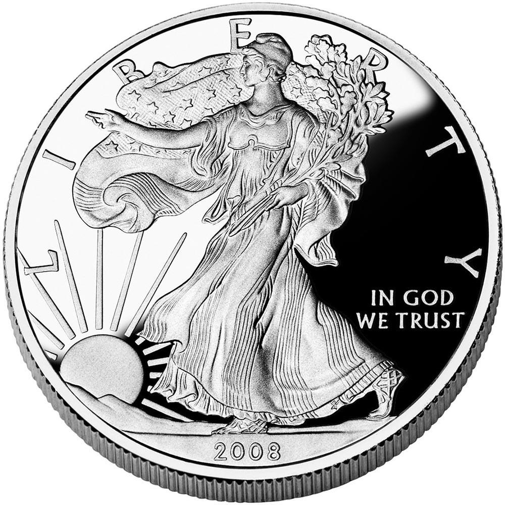 Proof Silver Eagle 2008-W #1AC66820