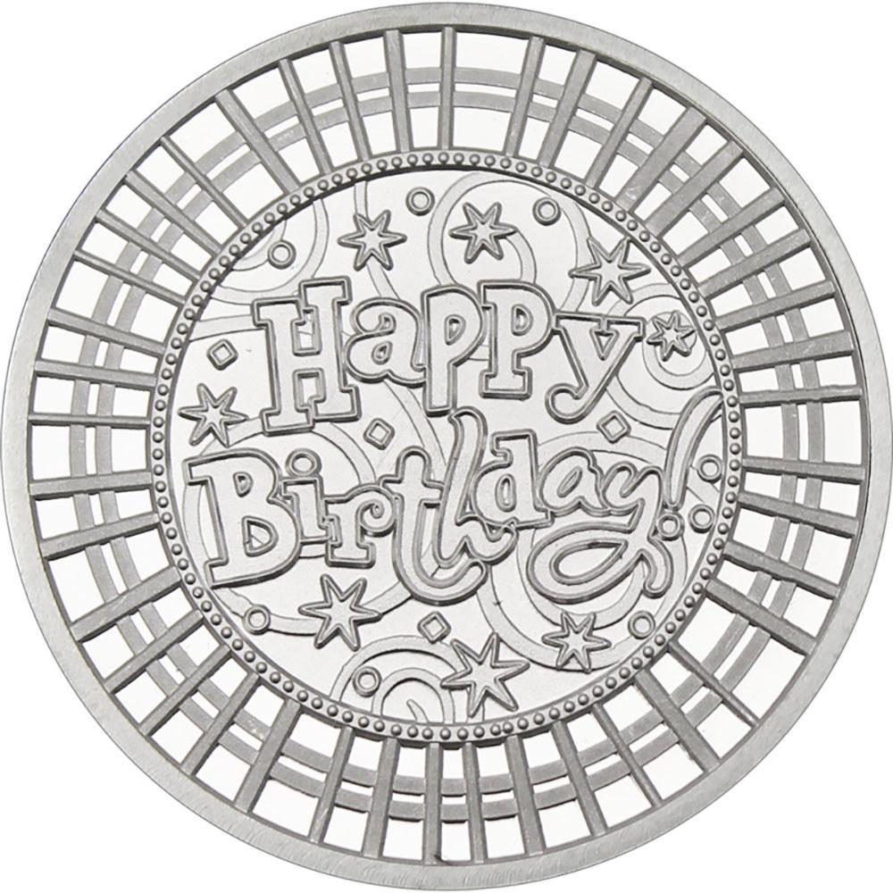 Happy Birthday .999 Silver 1 oz Round #1AC66860