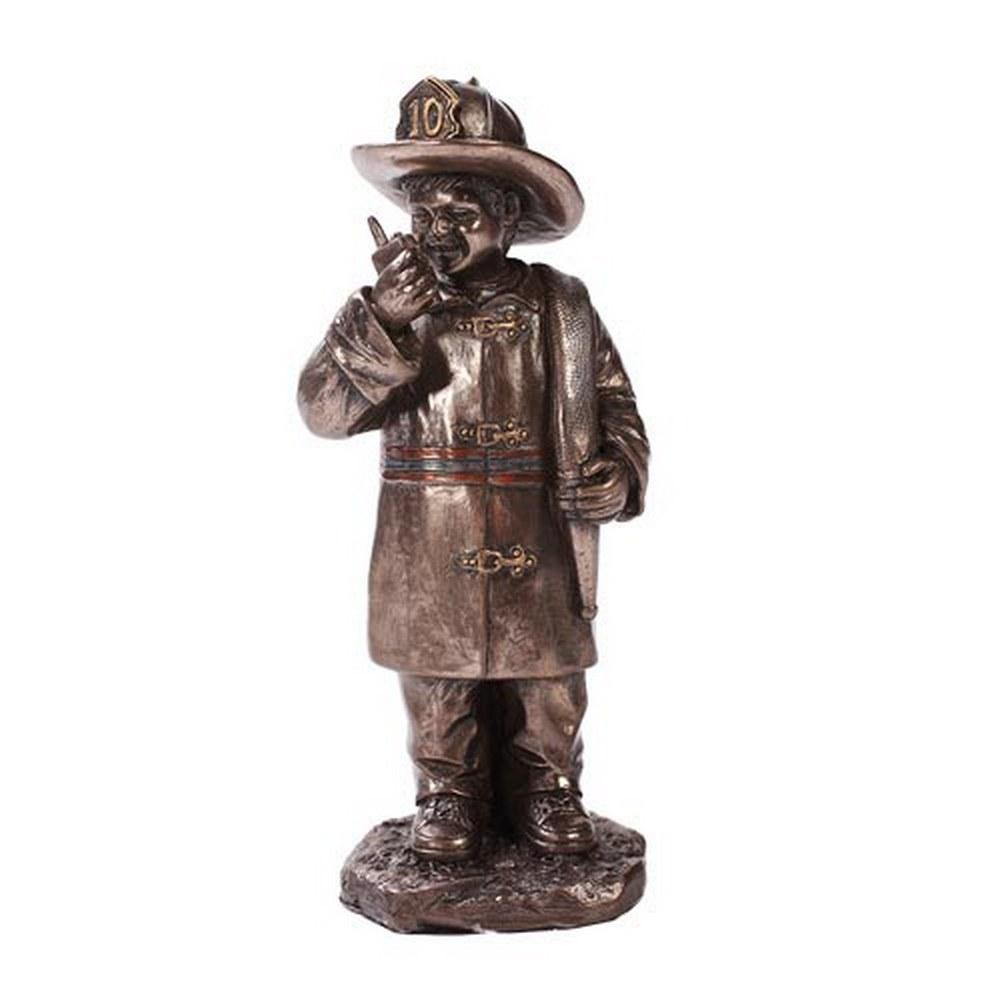 CHILD PLAYING FIREFIGHTER #1AC62374