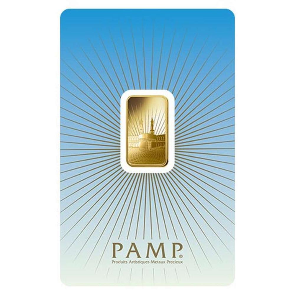 PAMP Suisse 5 Gram Gold Bar - Ka?Bah Mecca #1AC96492