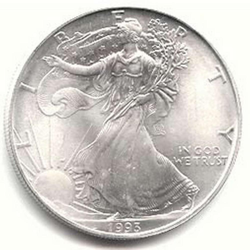 1993 1 oz Silver American Eagle BU #1AC96656